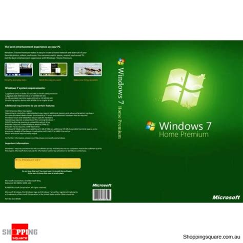 microsoft windows 7 home premium 64 bit shopping