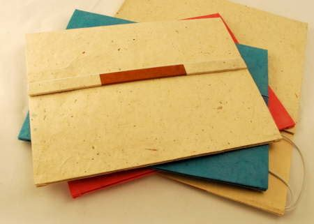 Handmade Paper Folders - handmade document folders paper handmade paper