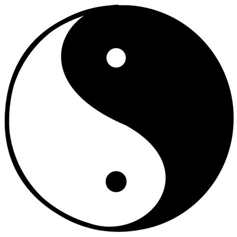 Yin Yang the for disbelief