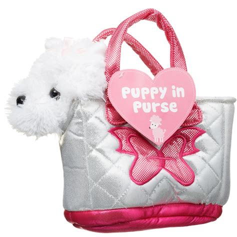 puppy in a purse puppy in purse animal toys play sets b m