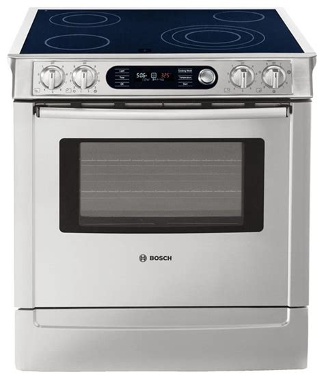gas and electric range bosch 30 quot slide in range