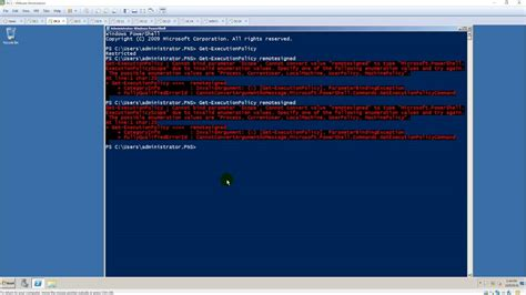 script running powershell scripts  windows server