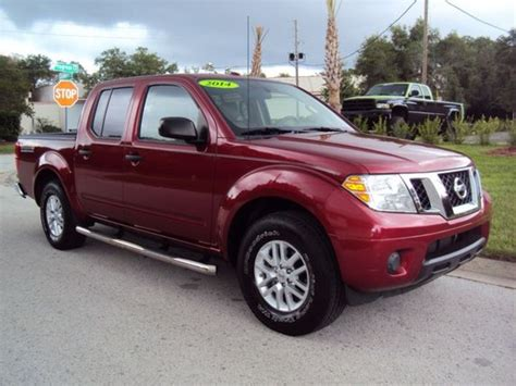 nissan truck 2014 2014 nissan frontier crew cab sv v6 for sale 59 used cars