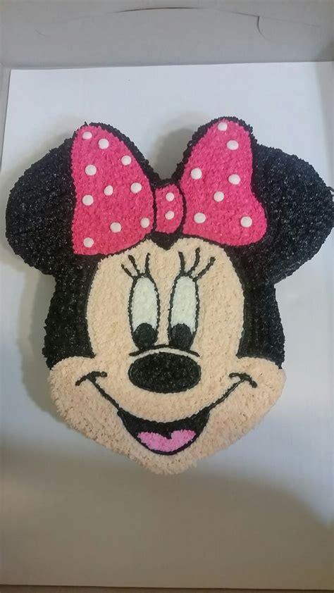 minnie mouse face cakei   template