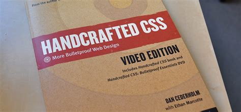 Handcrafted Css - simplebits photos of handcrafted css