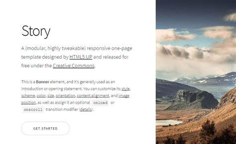 story bootstrap template free bootstrap themes amp templates for responsive html5