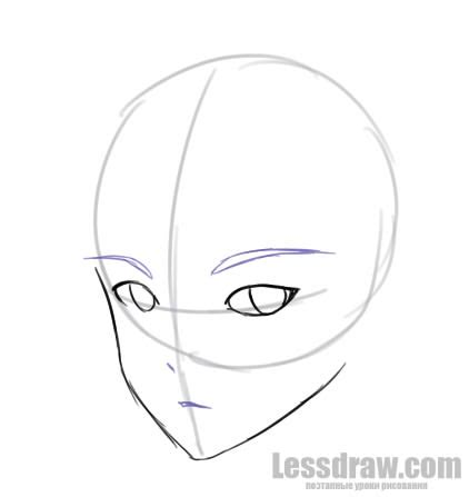 by step how to draw anime boys how to draw anime boy step by step for beginners lessdraw