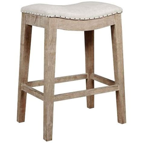 counter height backless bar stools harper stone wash counter stool