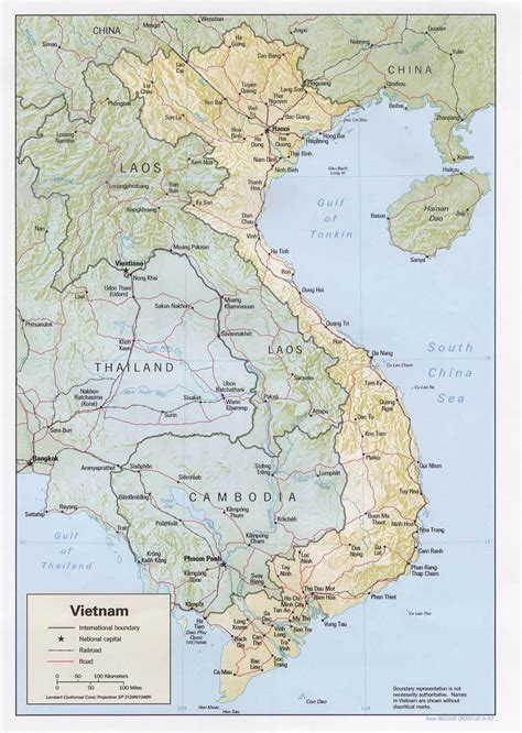 printable vietnam road map detailed road and relief map of vietnam vietnam detailed