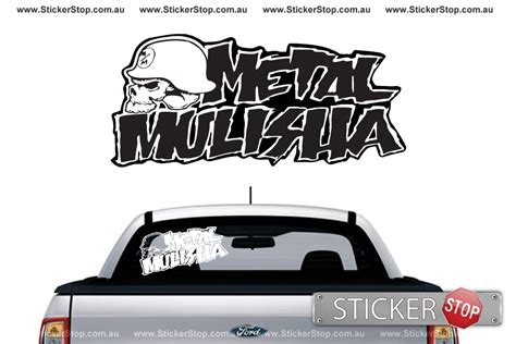 Ea Cutting Sticker Decal Code Stop Tech 1 Sponsor Logo metal mulisha sticker sticker stop