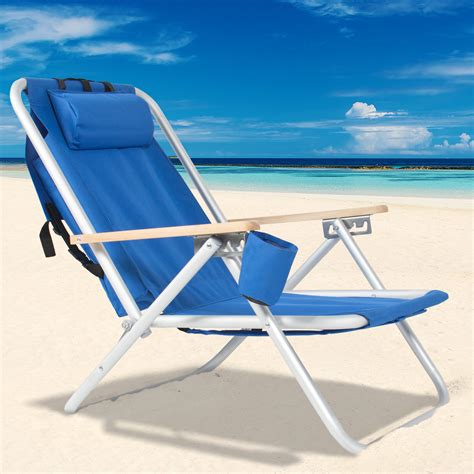 fully reclining beach chair inspirations beach chairs with straps tri fold beach