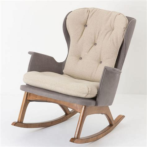 Armchair Rocking Chair by Finn Rocker Rocking Chairs Other Metro By Anthropologie