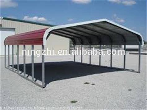 steel awning for cars prefab metal shed for car buy car