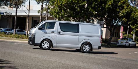 toyota hiace truck 2016 toyota hiace lwb review caradvice