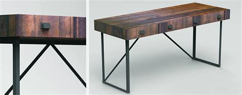 rustic modern desk modern rustic desk best home design 2018