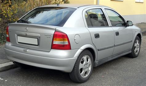 opel vauxhall opel astra history of model photo gallery and list of