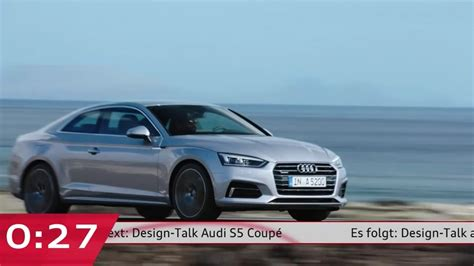 Audi Video by Watch The World Premiere Of Audi S New 2017 A5 Coup 233
