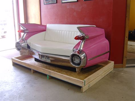 cadillac couch new retro cars restored classic car couches sofas and
