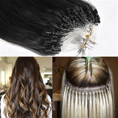 how to put in bead extensions micro links micro bead hair extensions emeda hair