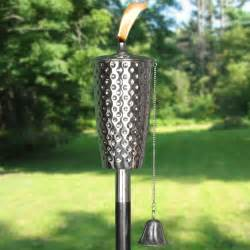 Patio Torch Lights Dimpled Tiki Torch Tiki Torches Outdoor Patio Torches