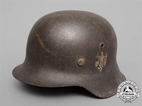 Helm Kyt R10 Sticker Army a single decal m42 wehrmacht heer army stahlhelm by vereinigte deutsche nickelwerke