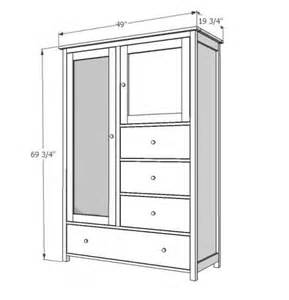 Free Armoire Plans I Want To Make This Diy Furniture Plan From White