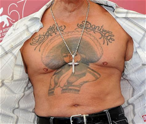 danny trejo chest tattoo danny trejo en pictures to pin on