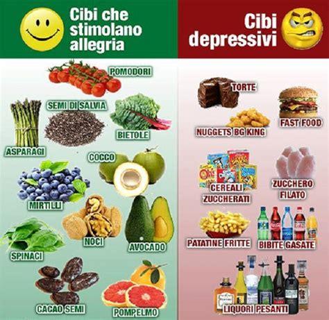 alimenti ricchi di serotonina alimenti antidepressivi quali scegliere e quali evitare