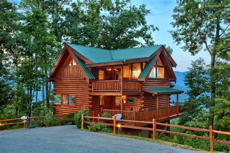 Log Cabin Homes For Rent In Tennessee by Knoxville Cabin Rental