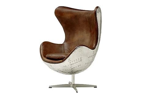 Metal Egg Chair | egg chair with metal paneling study pinterest