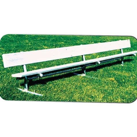 portable benches aluminum treated plank portable bench