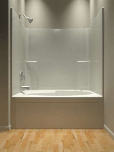one piece bathtub enclosures 25 best ideas about one piece tub shower on pinterest