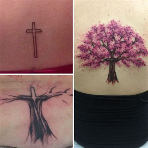 tattoo cross fails 10 creative cover up tattoo ideas to fix old tattoo fails