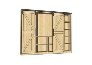how to build a sliding barn door modular robinson