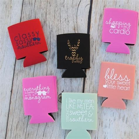 heat transfer vinyl custom order design  koozie