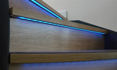Kitchen Flooring Idea by Aluminum Profile Led Stair Lighting Sdl Lighting