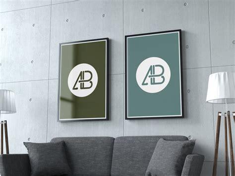 design poster mockup free mockup realistic poster heydesign com