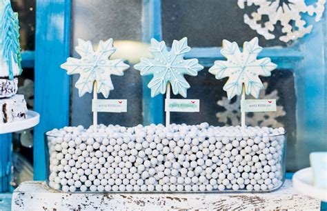 a whimsical winter wonderland party hostess with the