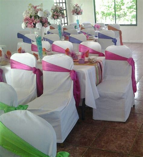 Rainbow Wedding #Colorscheme fuschia pink, lime green