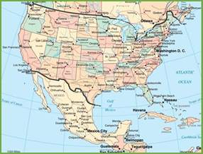 us map new mexico usa and mexico map