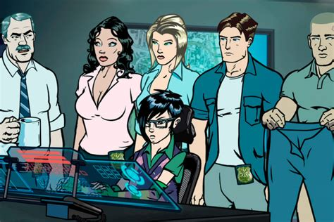 is a s purpose on netflix pacific heat review netflix animated comedy is no archer indiewire
