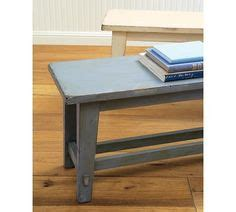 pottery barn rustic bench woodwork on pinterest stools benches and rustic bench