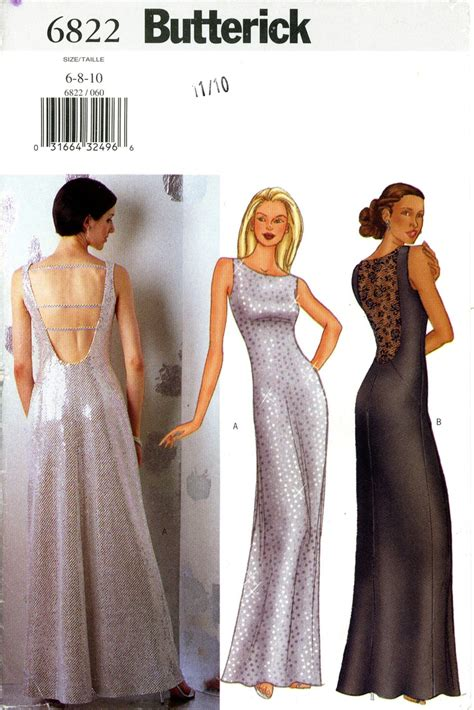 dress pattern evening wear butterick prom evening dress pattern so fancy for her
