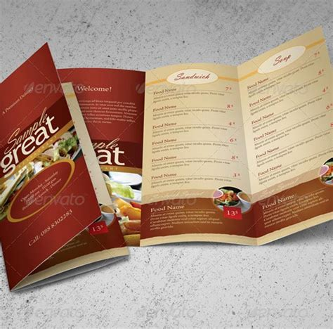 restaurant take out menu templates hypernot beautiful restaurant menu templates and designs