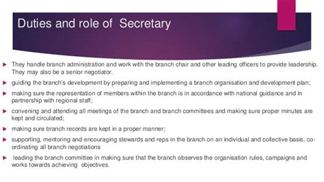 chair of committee responsibilities duties and roles manual for elected committee members