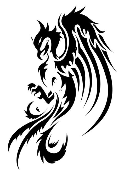 tribal pheonix tattoo 1000 images about ideas on