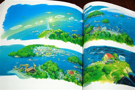 studio ghibli layout designs exhibition art book art of ponyo production artbook miyazaki hayao 171 anime
