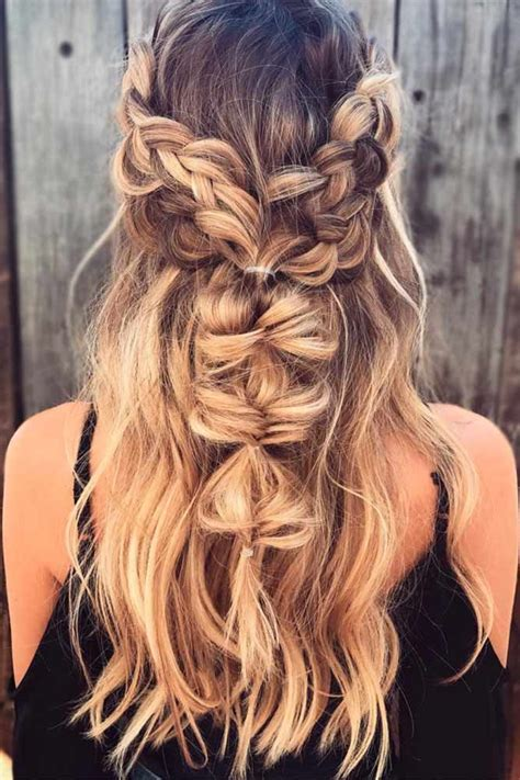 bohemian hairstyle ideas    fall  love