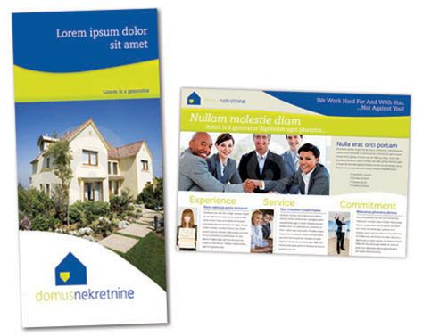 real estate prospectus template real estate brochure template real estate brochure