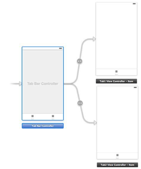 xcode layout navigation bar using xcode 5 storyboards to create an ios 7 tab bar